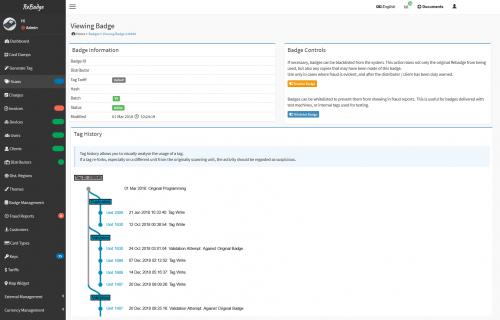 Rebadge Admin Interface